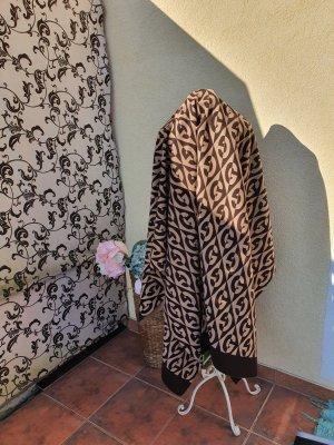 Gucci Bufanda de lana color bronce