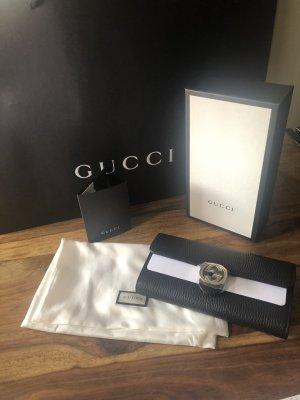Gucci Portafogli nero-argento