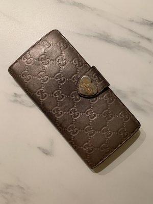 Gucci Portafogli grigio-argento