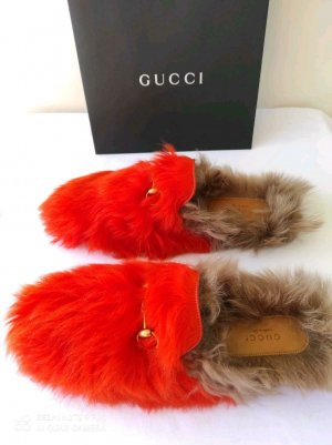Gucci Sabot multicolore tissu mixte