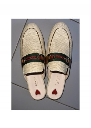 Gucci Mocassino crema-bordeaux
