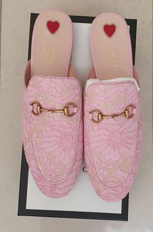 Gucci Pantofel jasny różowy
