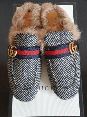 Gucci Pantoffels grijs