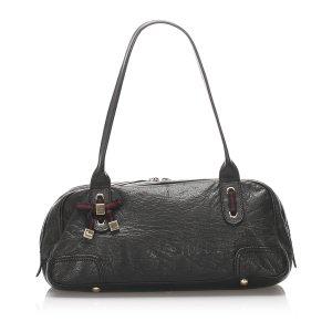 Gucci Princy Leather Shoulder Bag