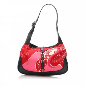 Gucci Printed Jackie Shoulder Bag