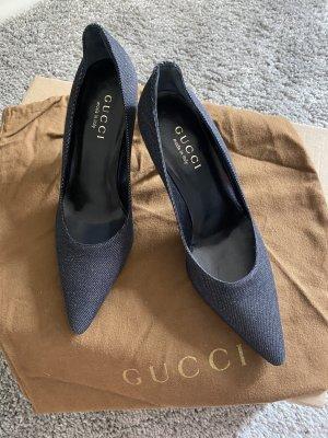 Gucci Tacco alto nero-grigio scuro