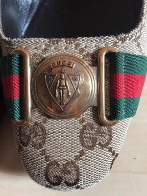 Gucci Décolleté con plateau multicolore Pelle