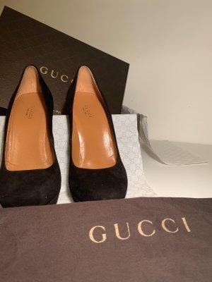 Gucci Tacco alto nero-arancione