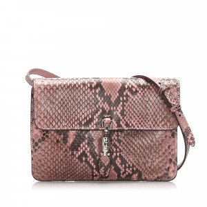 Gucci Python Jackie Convertible Crossbody Bag
