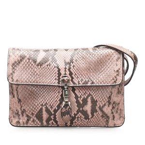 Gucci Python Jackie Convertible Crossbody Bag