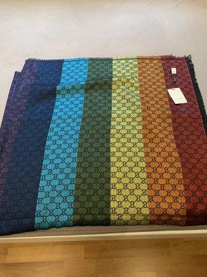 Gucci Bufanda de lana multicolor