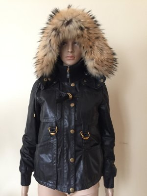 Gucci real leather with fox fur
