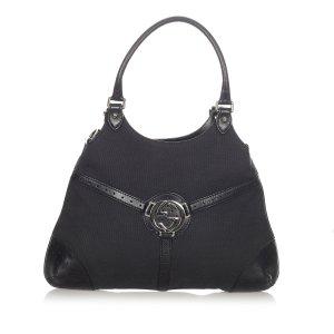 Gucci Sac porté épaule noir