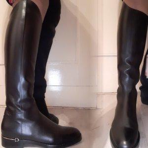Gucci Botas de equitación negro Cuero