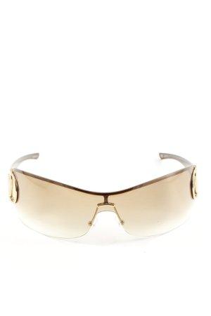 Gucci Retro Brille braun Casual-Look