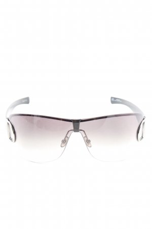 Gucci Retro Brille schwarz Casual-Look