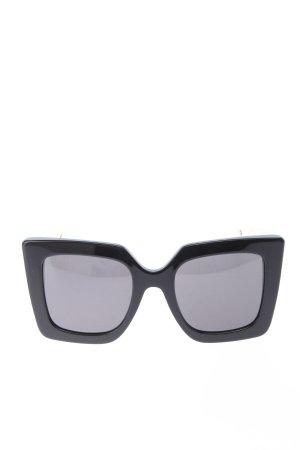 Gucci Retro Glasses black-gold-colored elegant