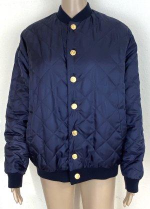 Gucci Bomber Jacket pink-dark blue silk
