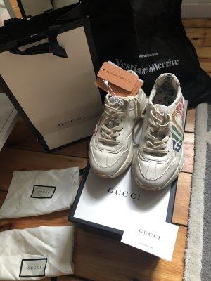 Gucci Sneakers met veters room-wolwit