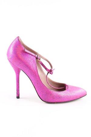 Gucci Riemchenpumps pink Elegant