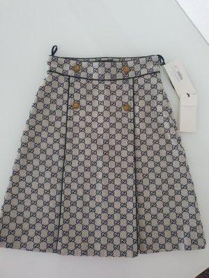 Gucci High Waist Skirt light grey