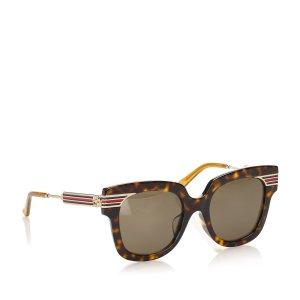 Gucci Lunettes de soleil brun foncé
