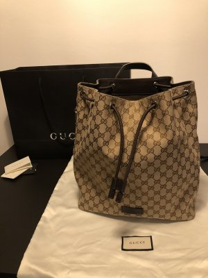 Gucci Borsellino beige-marrone-nero