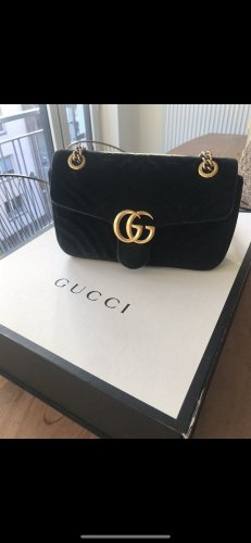 Gucci samt marmont small velvet