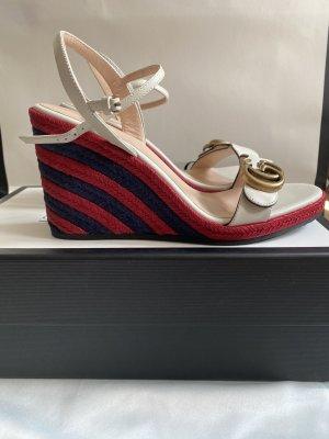 Gucci Platform Sandals cream