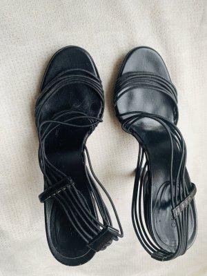 Gucci Sandalen in schwarz