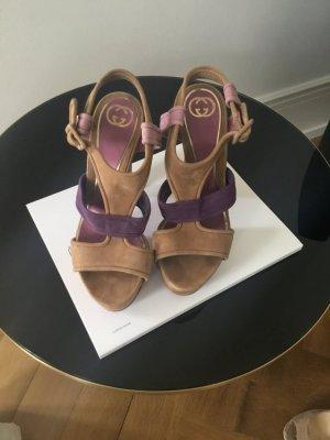 Gucci Sandale d'extérieur multicolore cuir