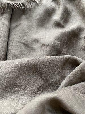 Gucci Silk Scarf taupe