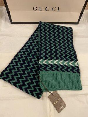 Gucci Wełniany szalik zielony