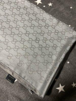 Gucci Sciarpa di lana grigio chiaro-grigio