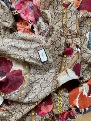 Gucci Bufanda de seda multicolor