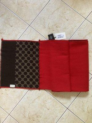 Gucci Écharpe en laine rouge