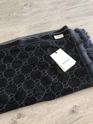 Gucci Écharpe gris clair-gris foncé