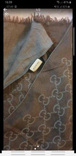 Gucci Zijden sjaal taupe