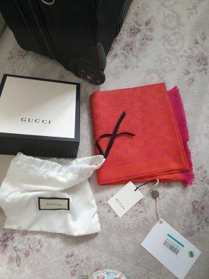 Gucci Écharpe à franges multicolore