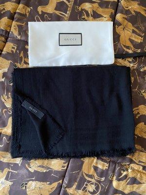 Gucci Sjaal van kasjmier zwart Kasjmier