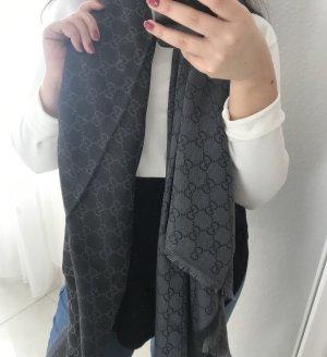 Gucci Wollen sjaal lichtgrijs-grijs