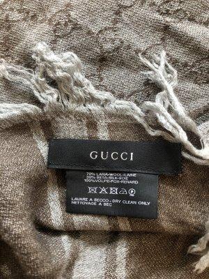 Gucci Écharpe en laine multicolore mohair