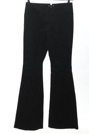 Gucci Pantalon pattes d'éléphant noir style décontracté