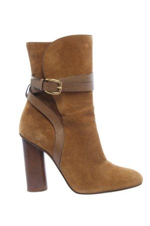 Gucci Wciągane buty za kostkę brązowy W stylu biznesowym