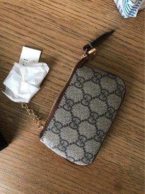 Gucci Etui na klucze szaro-brązowy-szary