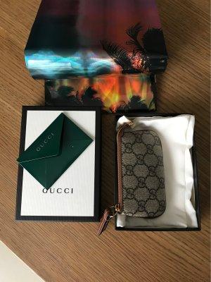 Gucci Étui porte-clés gris brun-gris