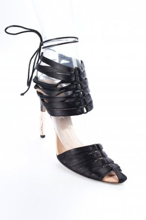 Gucci Schnür-Pumps schwarz Elegant