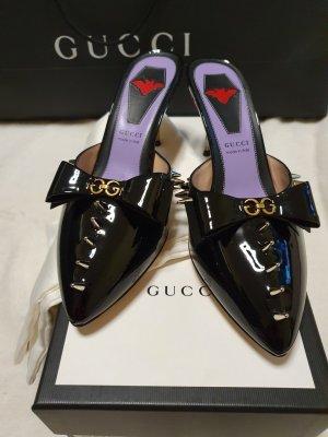 Gucci Hoge hakken sandalen zwart
