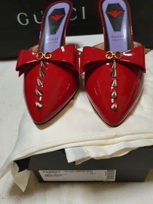 Gucci Hoge hakken sandalen rood