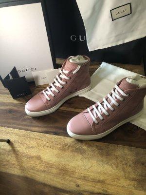 Gucci Wysokie trampki różowy